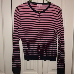 Lilly Pulitzer Striped Cardigan